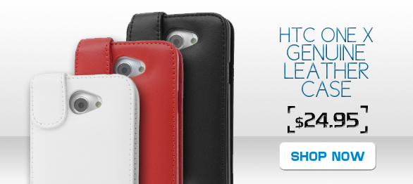 Make your life easier with this bestselling leather case and wallet for the HTC One X