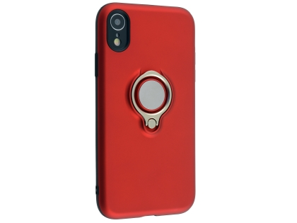 Impact Case With Ring Holder for iPhone XR - Red Impact Case