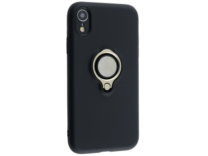 Impact Case With Ring Holder for iPhone XR - Black Impact Case