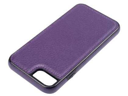 Synthetic Leather Back Cover for iPhone 8/7 - Purple