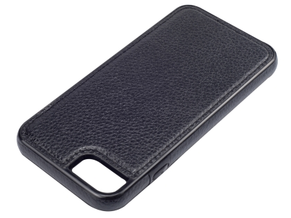 Synthetic Leather Back Cover for iPhone 8/7 - Black