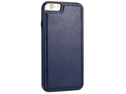 Synthetic Leather Back Cover for iPhone 6s/6 - Midnight Blue Leather Case