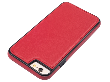 Synthetic Leather Back Cover for iPhone 6s/6 - Red