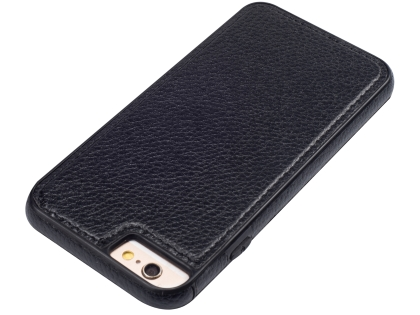 Synthetic Leather Back Cover for iPhone 6s/6 - Black