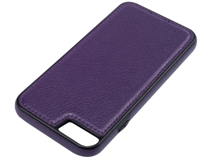 Synthetic Leather Back Cover for iPhone 6s Plus/6 Plus - Purple