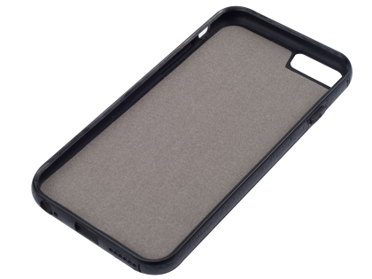 Synthetic Leather Back Cover for iPhone 6s Plus/6 Plus - Black