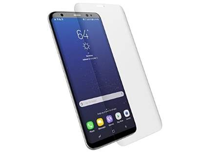 Curved Anti-Glare Full Screen Protector for Samsung Galaxy S8+ - Screen Protector