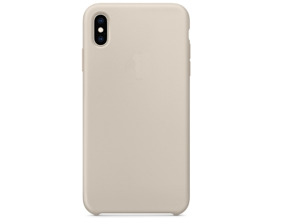Silicone Case for Apple iPhone Xs Max - Stone Soft Cover
