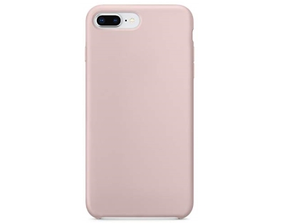Silicone Case for Apple iPhone 7 Plus/8 Plus - Pink Sand Soft Cover
