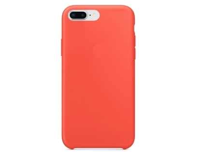 Silicone Case for Apple iPhone 7 Plus/8 Plus - Nectarine Soft Cover