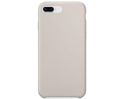 Silicone Case for Apple iPhone 7 Plus/8 Plus - Stone Soft Cover