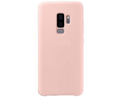 Silicone Case for Samsung Galaxy S9+ - Pink Soft Cover