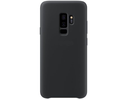 Silicone Case for Samsung Galaxy S9+ - Black Soft Cover