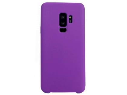 Silicone Case for Samsung Galaxy S9+ - Purple Soft Cover
