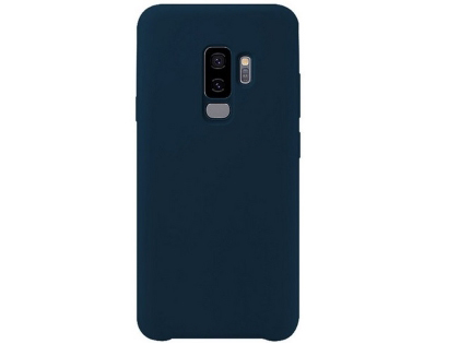 Silicone Case for Samsung Galaxy S9+ - Dark Blue Soft Cover