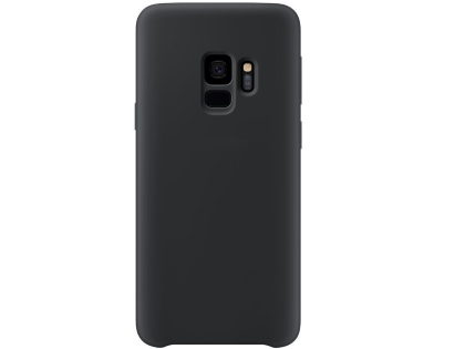 Silicone Case for Samsung Galaxy S9 - Black Soft Cover