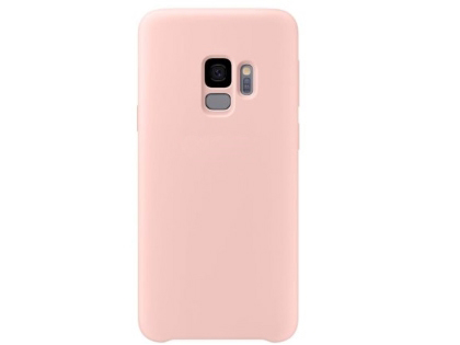 Silicone Case for Samsung Galaxy S9 - Pink Soft Cover