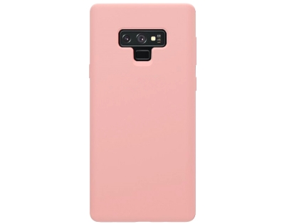 Silicone Case for Samsung Galaxy Note9 - Pink Soft Cover