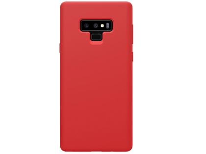 Silicone Case for Samsung Galaxy Note9 - Red Soft Cover