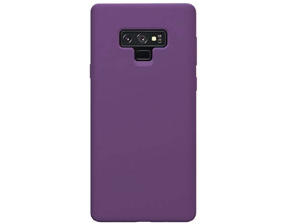 Silicone Case for Samsung Galaxy Note9 - Purple Soft Cover