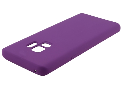 Silicone Case for Samsung Galaxy S9 - Purple Soft Cover