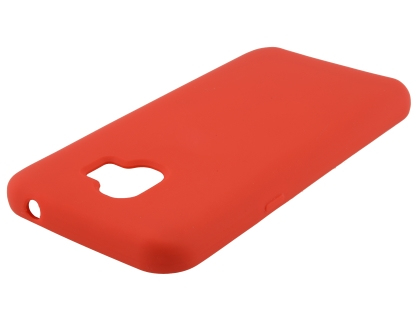 Silicone Case for Samsung Galaxy J2 Pro (2018) - Red Soft Cover