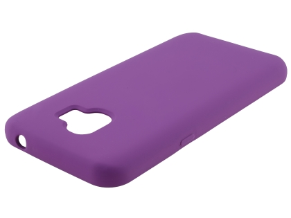 Silicone Case for Samsung Galaxy J2 Pro (2018) - Purple Soft Cover