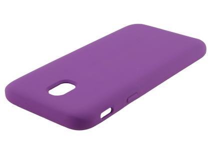 Silicone Case for Samsung Galaxy J5 Pro (2017) - Purple Soft Cover