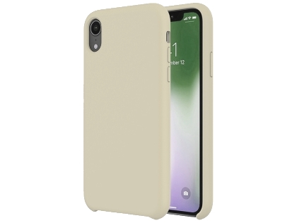 Silicone Case for Apple iPhone XR - Stone Soft Cover