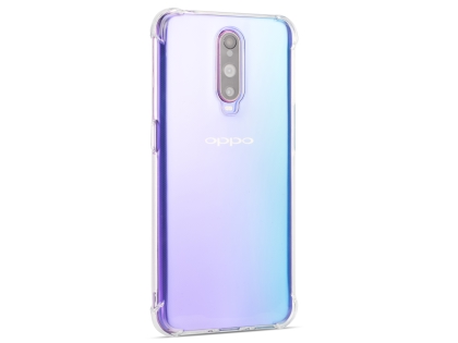 Gel Case with Bumper Edges for OPPO R17 Pro - Clear Soft Cover