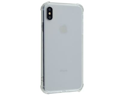 Gel Case with Bumper Edges for iPhone Xs Max - Clear Soft Cover