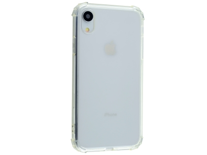 Gel Case with Bumper Edges for iPhone XR - Clear Soft Cover
