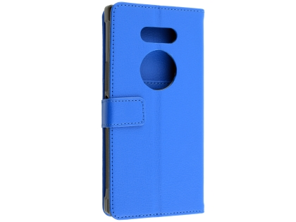 Synthetic Leather Wallet Case with Stand for Razer Phone 2 - Blue Leather Wallet Case