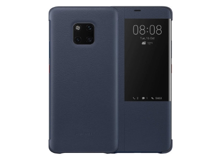 Official Huawei Mate 20 Pro Smart View Flip Case - Blue S View Cover