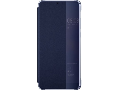 Official Huawei P20 Pro Smart View Flip Case - Blue S View Cover