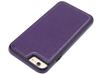 Synthetic Leather Back Cover for iPhone 6s/6 - Purple