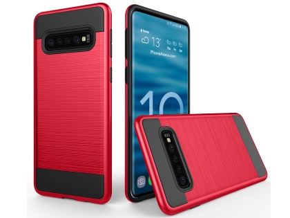 Impact Case for Samsung Galaxy S10 - Red Impact Case