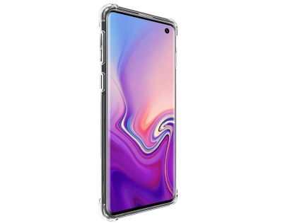 Gel Case with Bumper Edges for Samsung Galaxy S10 - Clear