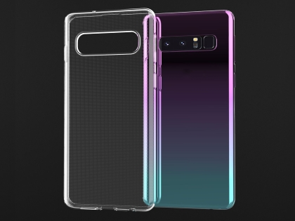 Ultra Thin Gel Case for Samsung Galaxy S10+ - Clear Soft Cover