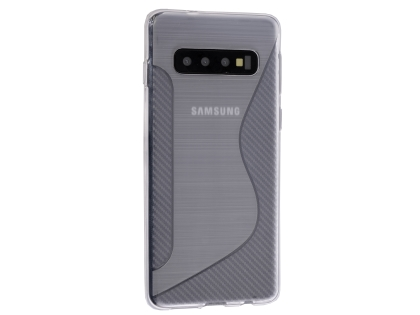 Wave Case for Samsung Galaxy S10+ - Clear Soft Cover
