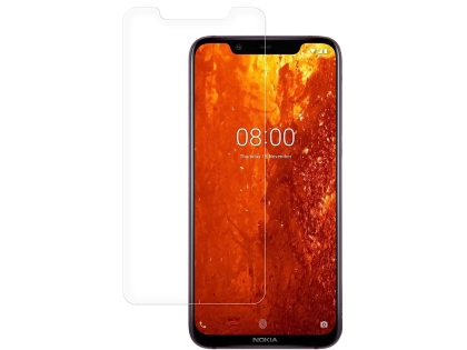 Flat Tempered Glass Screen Protector for Nokia 8.1 - Screen Protector