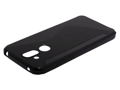 Wave Case for Nokia 8.1 - Black Soft Cover