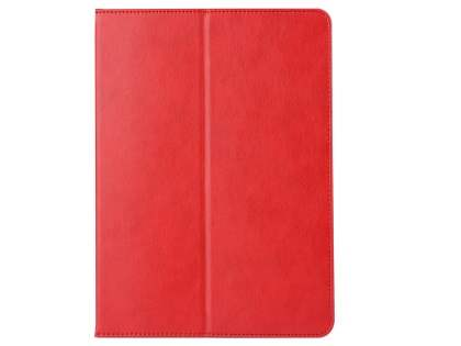 Synthetic Leather Flip Case with Stand for iPad Air 3rd Gen (2019) - Red