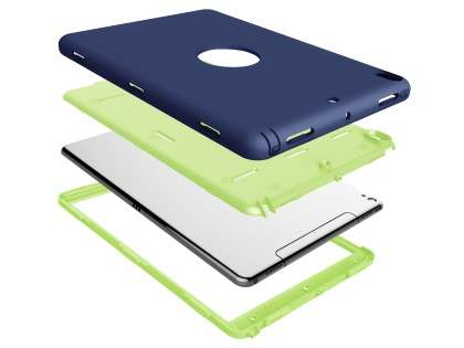 Impact Case for iPad Air 3rd Gen (2019) - Navy/Lime