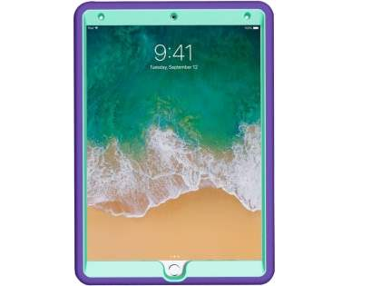 Impact Case for iPad Air 3rd Gen (2019) - Purple/Mint