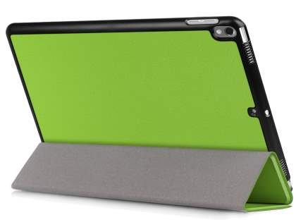 Synthetic Leather Flip Case with Stand for iPad Air 3rd Gen (2019) - Green Leather Flip Case