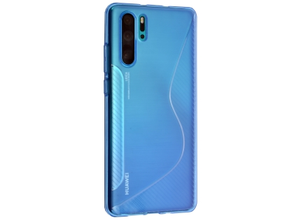 Wave Case for Huawei P30 Pro - Blue Soft Cover