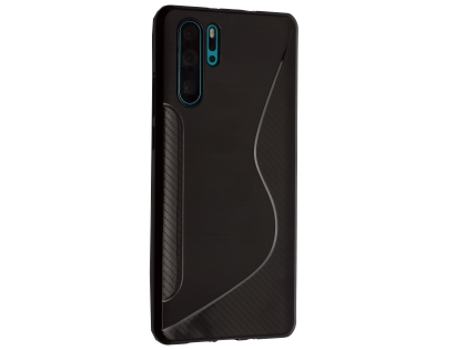 Wave Case for Huawei P30 Pro - Black Soft Cover