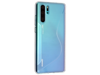 Wave Case for Huawei P30 Pro - Clear Soft Cover