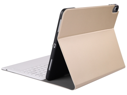 Keyboard and Case for iPad Pro 12.9 (2018) - Gold Keyboard